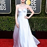 Dakota Fanning at the 2019 Golden Globes