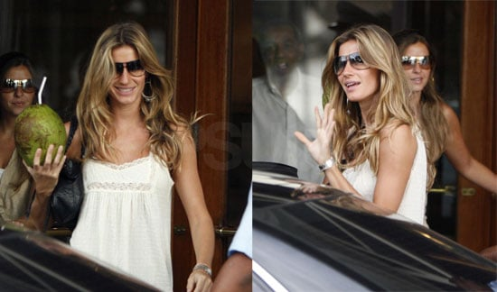 Gisele Wisely Chooses Brazil Summer Over NY Winter