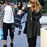 Joey Maalouf and Rachel Zoe got playful with Skyler Berman.