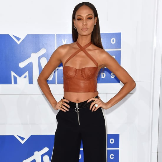 Joan Smalls at the MTV Video Music Awards 2016