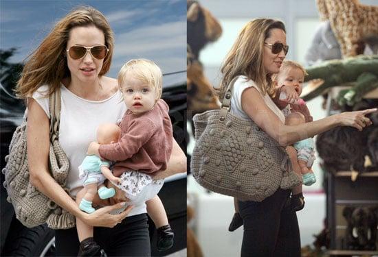 Angelina & Shiloh Take On FAO Schwarz