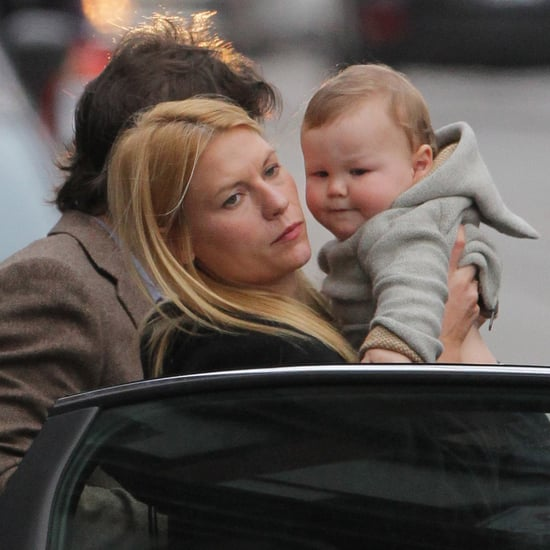 Claire Danes in Toronto With Baby Cyrus