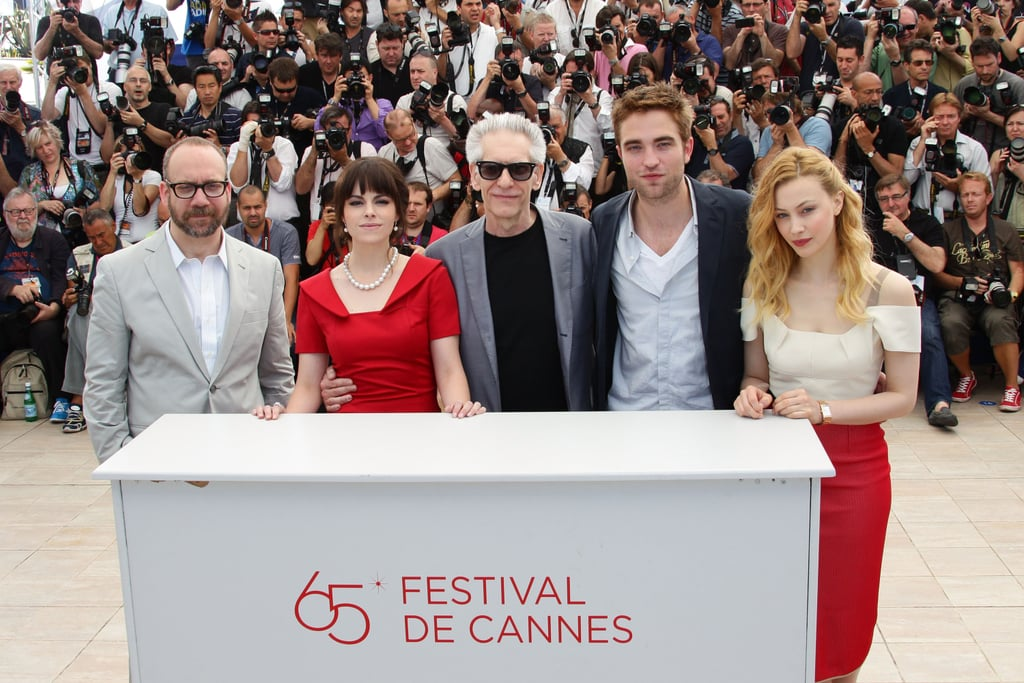 Robert Pattinson and his costars got together for the Cosmopolis photocall in Cannes.