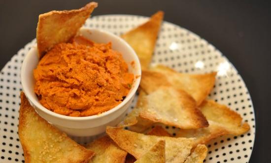 recipe for roasted red pepper dip