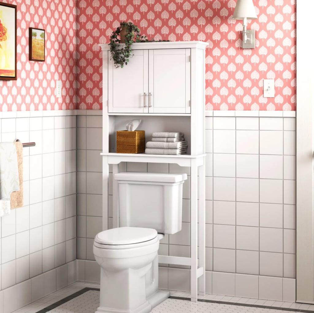 Extra Bathroom Storage: Somerset Over-The-Toilet Storage
