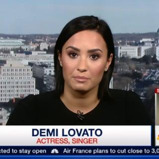Demi Lovato Talks About Mental Illness in MSNBC Video