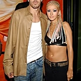 Christina Aguilera and Jorge Santos, 2000