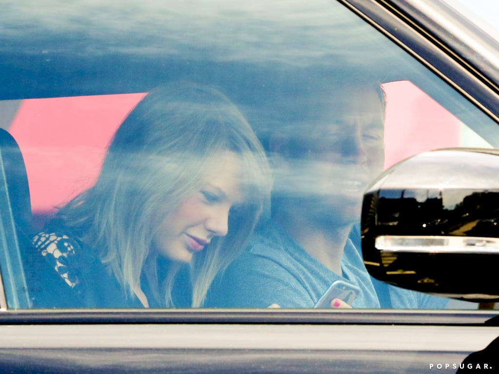 Taylor Swift and Calvin Harris in a Car Together | Pictures