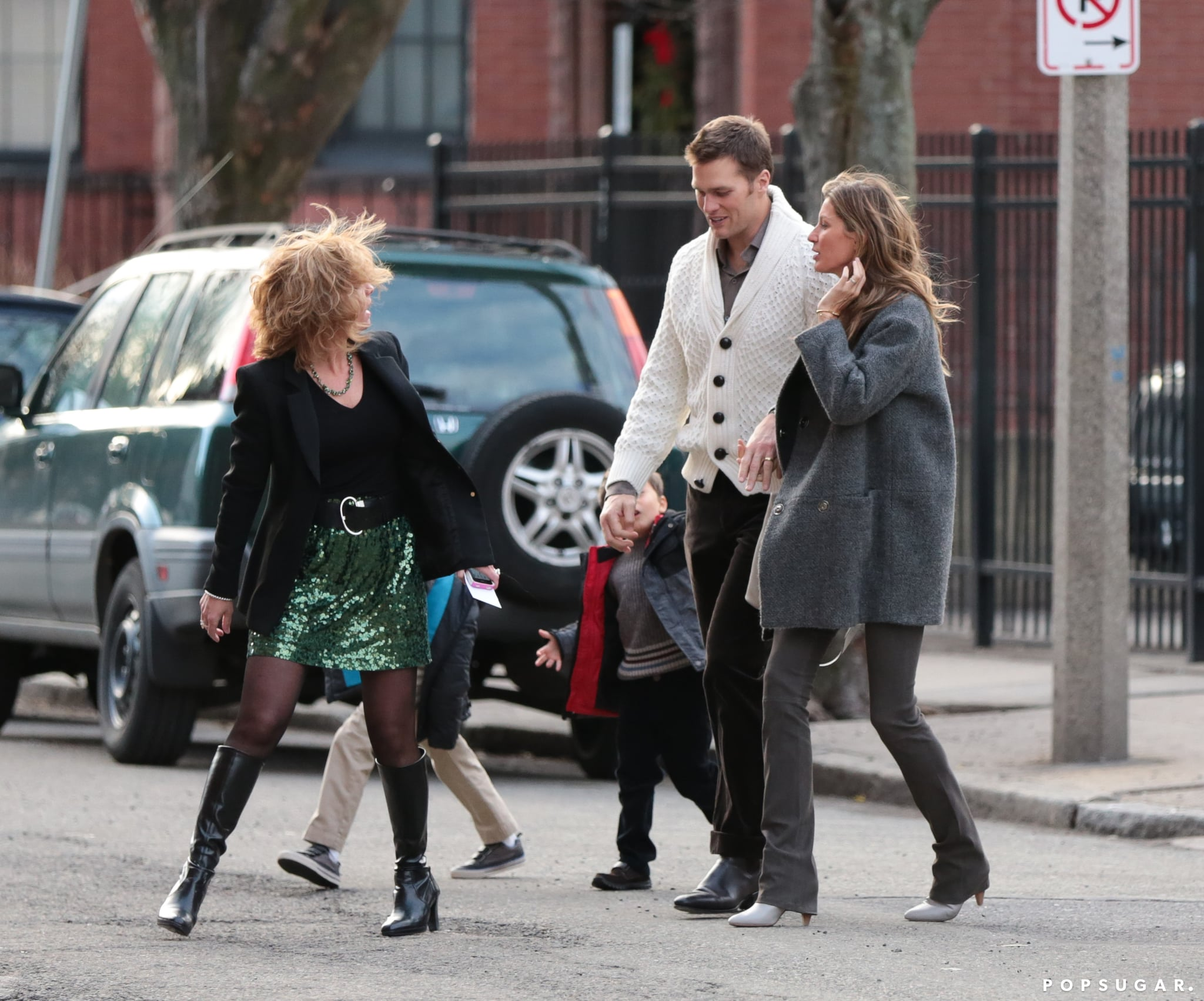 Tom Brady And Gisele Bundchen Stepped Out With Their Family In This Week S Can T Miss Shots Popsugar Celebrity Photo 11