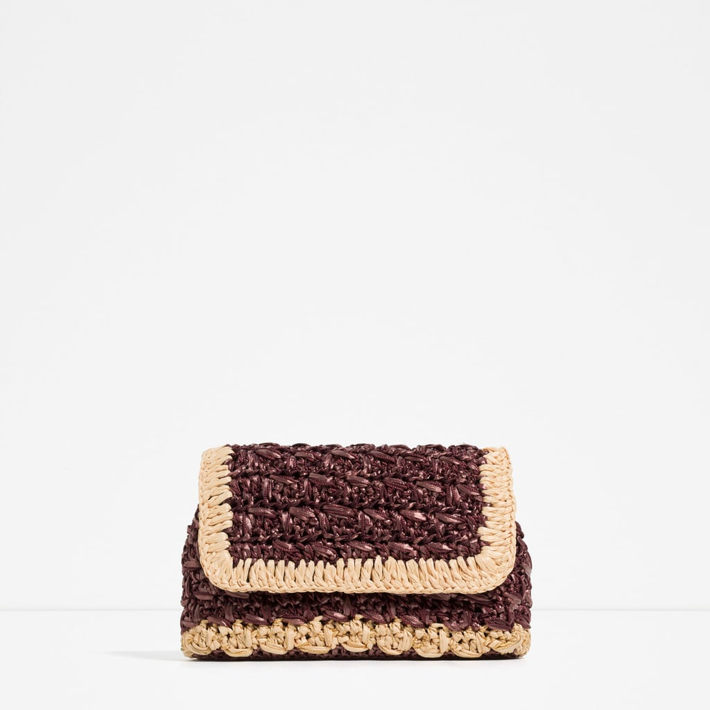Zara Braided Bag ($90)