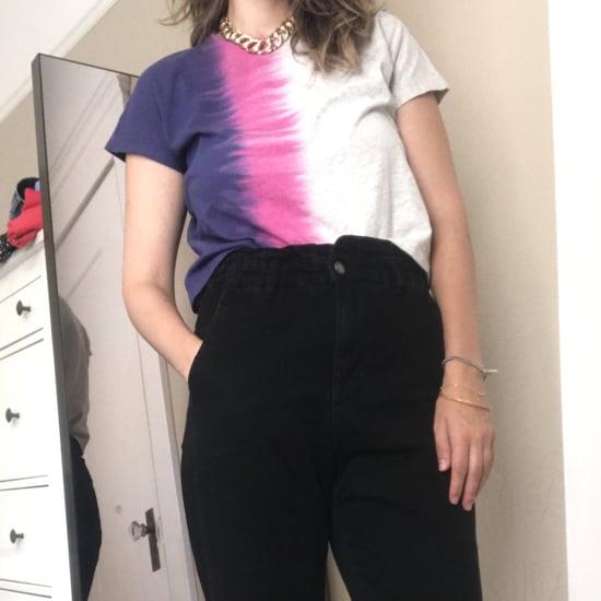 POPSUGAR x Old Navy Tie-Dye Shirt | Editor Review