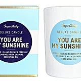 Sugar Baby You Are My Sunshine Island Flower Candle, $19.95