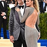 Gisele Bündchen and Tom Brady at the Met Gala 2017