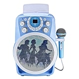 Frozen 2 Bluetooth CDG Karaoke Machine with LED Disco Party Lights