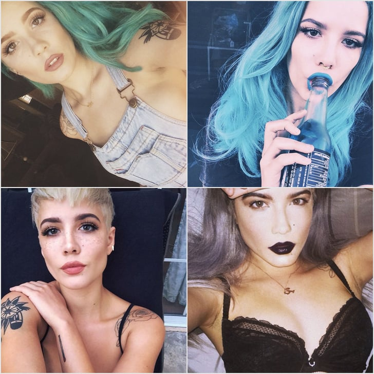 Halsey Instagram Pictures