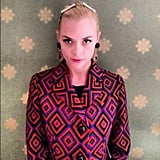 Jaime King sported some cute hair clips. Source: Instagram user jaime_king