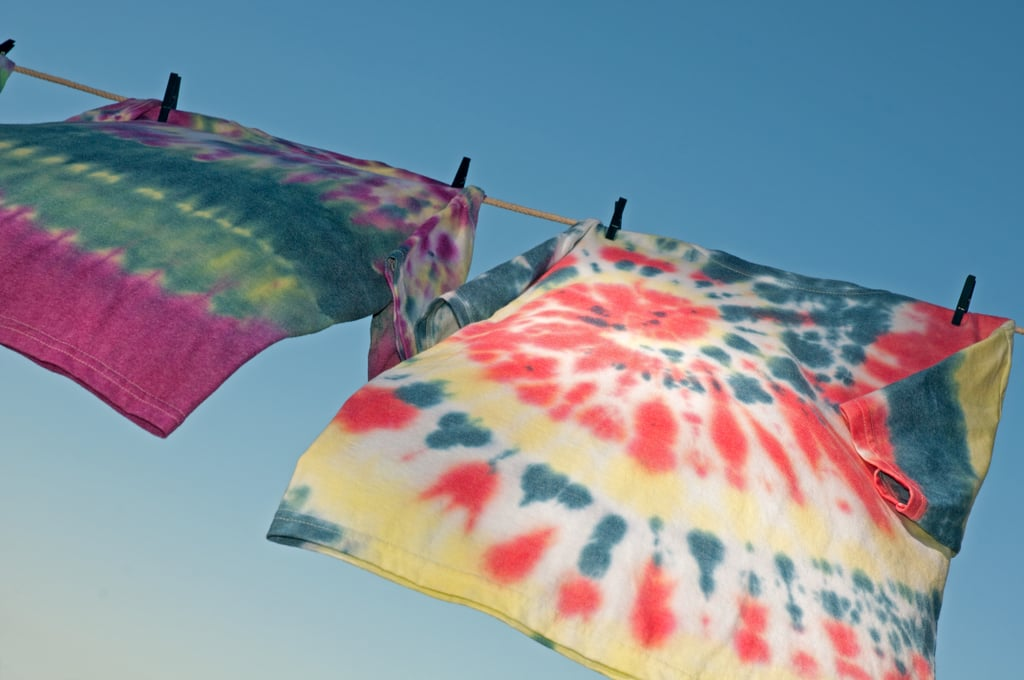Tie-Dyeing T-Shirts