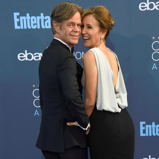 Felicity Huffman and William H. Macy at 2017 Critics' Choice