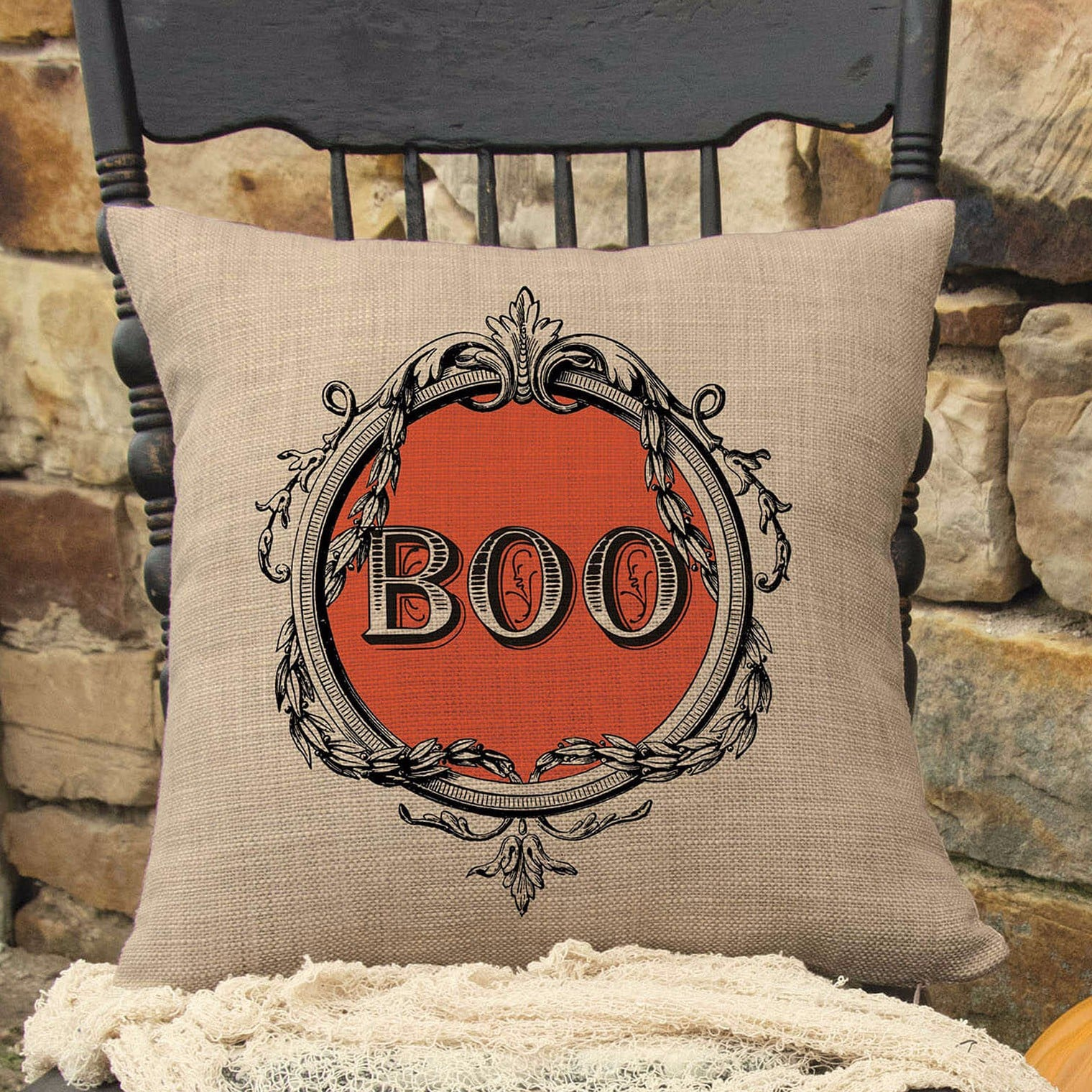 halloween pillows | popsugar home
