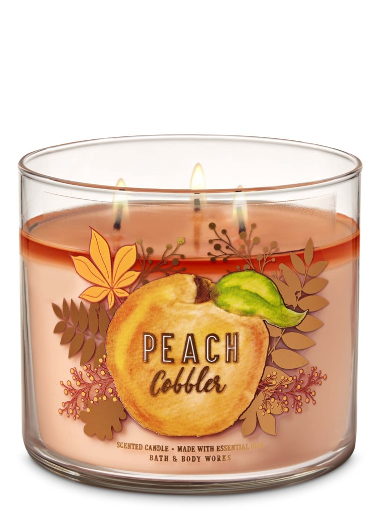 Bath and Body Works Peach Cobbler 3-Wick Candle