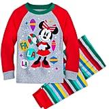 Minnie Mouse Holiday PJ Set