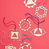 Chakra Ornaments, Set of Seven