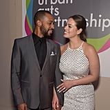 Ashley Graham and Justin Ervin PDA Pictures