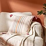 Pink Emilia Square Pillow