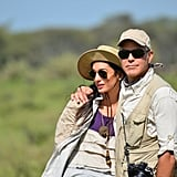 George and Amal had plenty of sweet moments in 2014, and their safari in Tanzania was no exception.