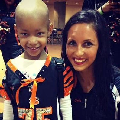 Devon Still's Daughter Attends His Game