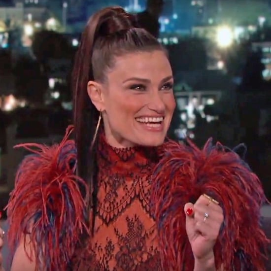 Matt Damon Surprises Idina Menzel on Jimmy Kimmel 2016