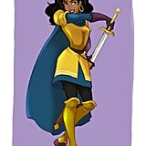 Esmeralda in Phoebus's Clothing