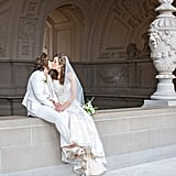 This Simple City Hall Wedding Focused on the Couple and Their Love — Nothing Else