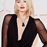 Margot Robbie, our homegrown star, carries on her Oscars domination with this fresh new cut.