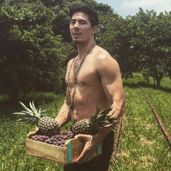 Shirtless Lewis Tan Photos