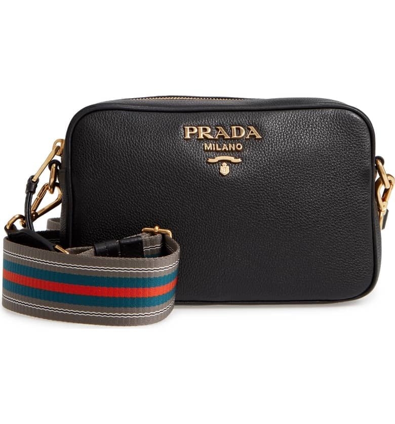 a808db5b039a Prada Vitello Daino Leather Camera Bag   Best Designer Bags 2019 ...