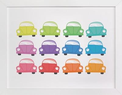 Rainbow Bugs Self-Launch Children's Art Print ($60)