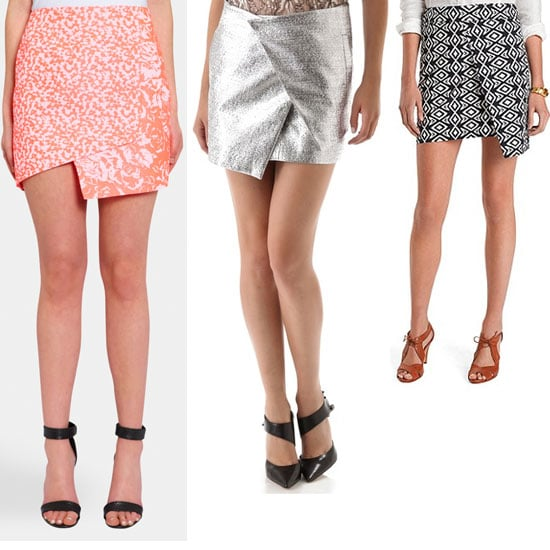 Currently Trending: Top Ten Wrap-Front Mini Skirts to Shop Online Now: Topshop, Ellery, Zimmermann & More