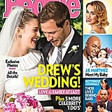 Drew Barrymore and Will Kopelman shared a sweet snap from their June 2012 wedding in Montecito, CA.