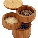Totally Bamboo Triple Salt Box
