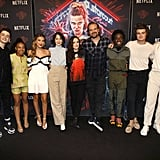 The Stranger Things Cast at Netflix's Stranger Things Season 3 Screening