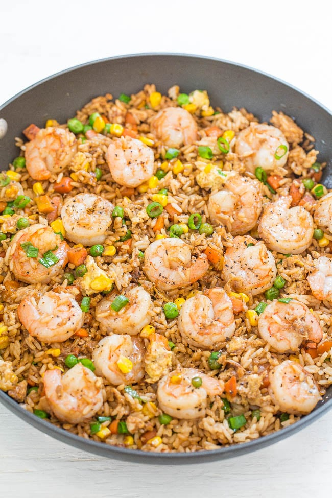 Shrimp Fried Rice Healthy Chinese Food Recipes Popsugar Fitness Uk Photo 4