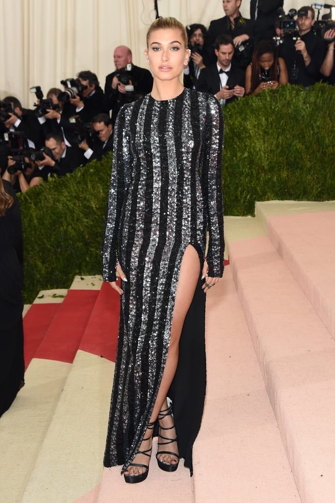 She wore a Tommy Hilfiger dress back in 2016 to the Met Gala.