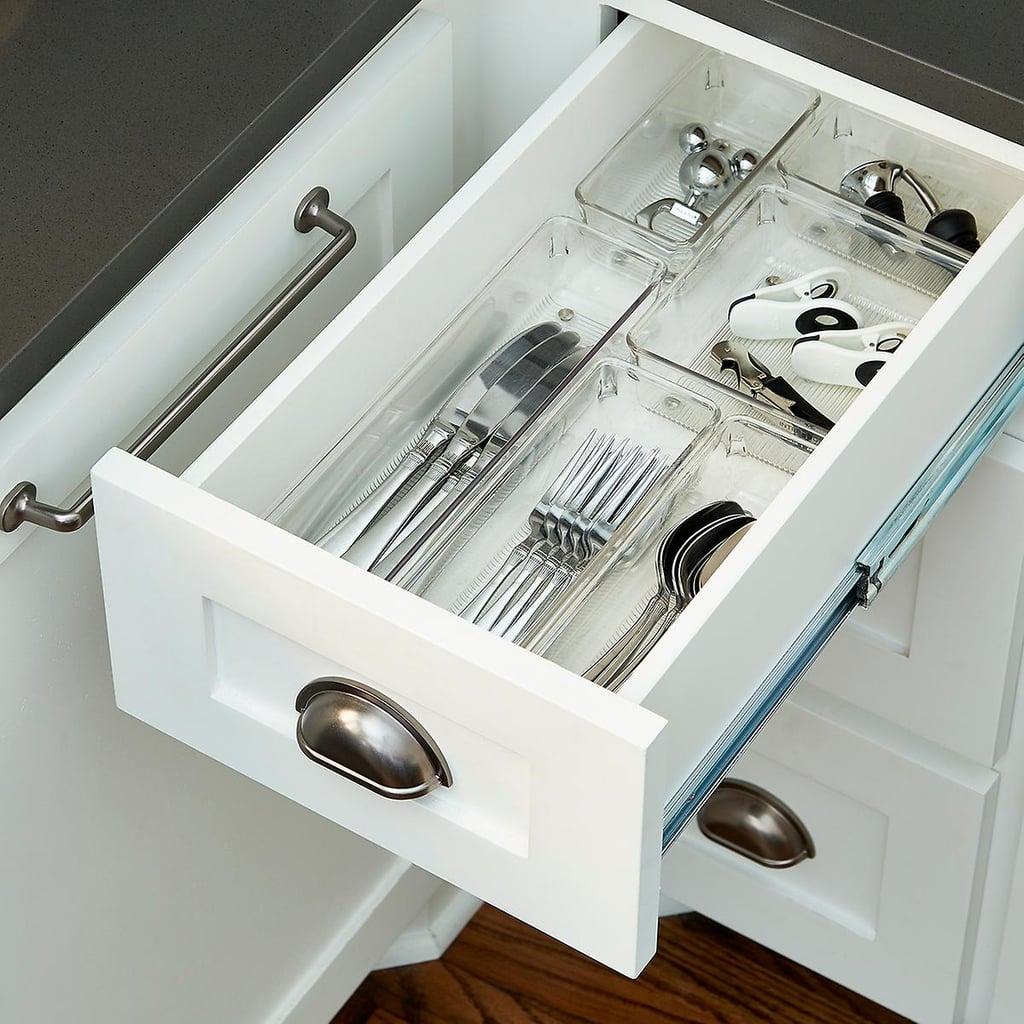 Kitchen Drawer Organizer: InterDesign Linus Small Drawer Organizer Starter Kit
