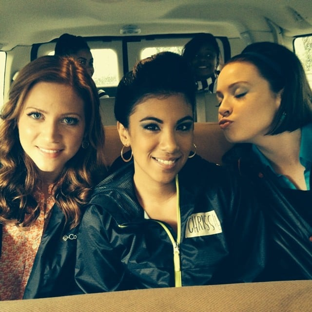 Brittany snow chrissie fit and shelley regner had fun - Pitch perfect swimming pool scene ...