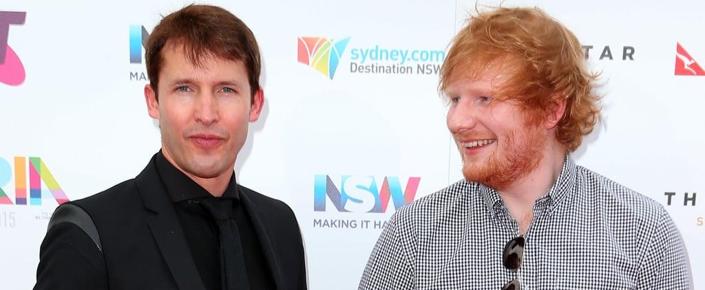 Ed Sheeran's Face Cut by Princess Beatrice