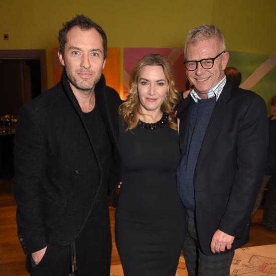 Jude Law and Kate Winslet Wonder Wheel Screening Photos