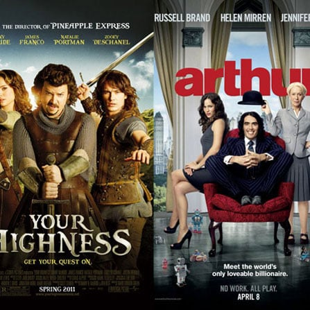 Are You Checking Out Your Highness or Arthur This Weekend?
