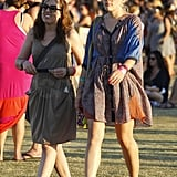Busy Philipps hung out with friends at Coachella's second weekend.