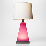 Pillowfort 2-in-1 Pink Tapered Table Lamp ($30)